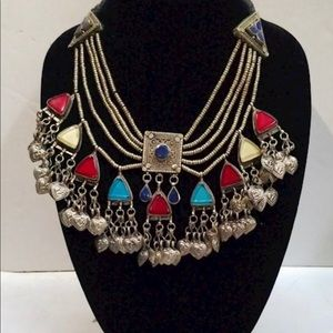 Large Tribal Style Necklace